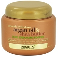 Image of Organix - Curl Enhancing Yogurt Smooth Hydration Argan Oil & Shea Butter - 8 oz.