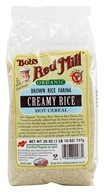 Bob's Red Mill - Creamy Brown Rice Farina Organic - 26 oz., from category: Health Foods