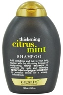Organix - Shampoo Thickening Citrus Mint For Men - 13 oz. - $6.99