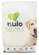 Nulo Naturals - Natural Dog Food Lamb & Brown Rice Recipe - 8 lbs. (856161002021)