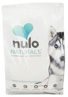 Nulo Naturals - Natural Dog Food Salmon & Brown Rice Recipe - 8 lbs. - $23.99