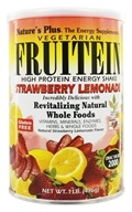 Nature's Plus - Vegetarian Fruitein Strawberry Lemonade - 1 lb., from category: Health Foods