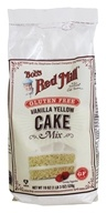 Bob's Red Mill - Vanilla Cake Mix Gluten Free - 19 oz.