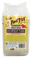 Bob's Red Mill - Whole Grain Buckwheat Flour Organic - 22 oz. (039978003027)