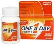 Bayer Healthcare - One A Day Women's Formula - 60 Tablets, from category: Vitamins & Minerals