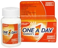 Bayer Healthcare - One A Day Women's Formula - 60 Tablets - $7.59