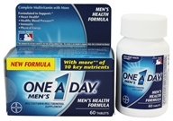 Bayer Healthcare - One A Day Men's Health Formula - 60 Tablets (016500080046)