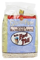 Image of Bob's Red Mill - Quick Cooking Oats Gluten Free - 32 oz.