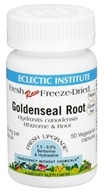 Eclectic Institute - Raw Goldenseal Root - 50 Vegetarian Capsules CLEARANCED PRICED (023363305520)