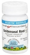 Eclectic Institute - Raw Goldenseal Root - 50 Vegetarian Capsules CLEARANCED PRICED