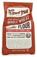 Bob's Red Mill - Whole Wheat Flour - 5 lbs. (039978533005)