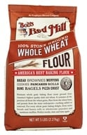 Image of Bob's Red Mill - Whole Wheat Flour - 5 lbs.