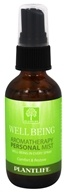 Plantlife Natural Body Care - Aromatherapy Personal Mist Well Being - 2 oz.