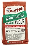 Bob's Red Mill - Whole Wheat Flour Organic - 5 lbs. by Bob's Red Mill