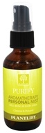 Plantlife Natural Body Care - Aromatherapy Personal Mist Purify - 2 oz.