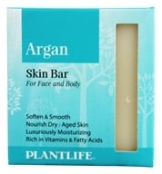Plantlife Natural Body Care - Skin Bar Soap For Face & Body Argan - 4.5 oz.