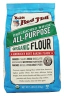 Bob's Red Mill - Unbleached White Flour Organic - 5 lbs. - $6.74