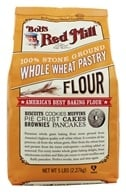 Bob's Red Mill - Whole Wheat Pastry Flour - 5 lbs.