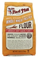 Bob's Red Mill - Whole Wheat Pastry Flour - 5 lbs. - $5.15