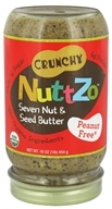 NuttZo - Organic Omega-3 Seven Nut & Seed Butter No Peanuts - 16 oz., from category: Health Foods