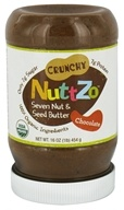 NuttZo - Organic Omega-3 Seven Nut & Seed Butter Chocolate - 16 oz. by NuttZo