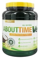 About Time - VE Vegan Protein Formula Vanilla - 2 lbs., from category: Health Foods