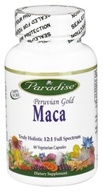 Paradise Herbs - Pervuian Gold Maca - 60 Vegetarian Capsules, from category: Herbs