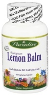 Paradise Herbs - European Lemon Balm - 60 Vegetarian Capsules, from category: Herbs