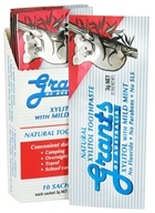 Grants of Australia - Natural Toothpaste Xylitol with Mild Mint - 10 x .10 Packets (9312812001504)
