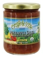 Organicville - Ananas organique Salsa - 16 once.