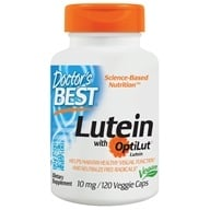 Doctor's Best - Best Lutein From Marigold Extract - 120 Vegetarian Caplet(s) - $12.99