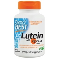 Doctor's Best - Best Lutein From Marigold Extract - 120 Vegetarian Caplet(s)