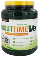 About Time - VE Vegan Protein Formula Chocolate - 2 lbs. (837654125564)