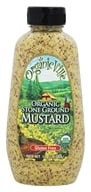 Organicville - Organic Stone Ground Mustard - 12 oz., from category: Health Foods