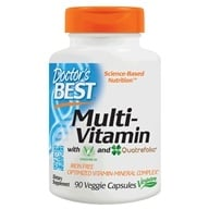Doctor's Best - Best Multiple Vitamin-Mineral Complex - 90 Vegetarian Caplet(s) by Doctor's Best