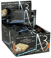 NOW - No Opportunity Wasted A3 Action Snax Energy Bar White Lightning Marshmallow - 1 oz., from category: Nutritional Bars
