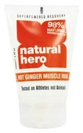 Natural Hero - Hot Ginger Muscle Rub - 3.3 oz.