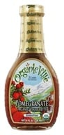 Organicville - Organic Vinaigrette Pomegranate - 8 oz., from category: Health Foods