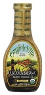 Image of Organicville - Organic Vinaigrette Olive Oil & Balsamic - 8 oz. CLEARANCED PRICED