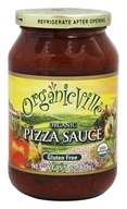 Organicville - Organic Pizza Sauce - 12.5 oz., from category: Health Foods