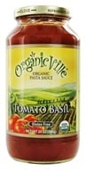 Organicville - Organic Pasta Sauce Tomato Basil - 24 oz., from category: Health Foods