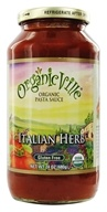 Organicville - Organic Pasta Sauce Italian Herb - 24 oz., from category: Health Foods