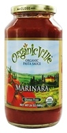 Organicville - Organic Pasta Sauce Marinara - 24 oz., from category: Health Foods