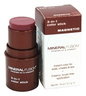 Mineral Fusion - 3-In-1 Color Stick Magnetic - 0.18 oz.