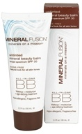 Mineral Fusion - BB Creme All-In-One Mineral Beauty Balm Untinted Shine-Free 30 SPF - 2 oz.