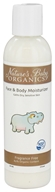 Nature's Baby Organics - Face & Body Moisturizer Fragrance Free - 6 oz.
