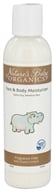 Image of Nature's Baby Organics - Face & Body Moisturizer Fragrance Free - 6 oz.
