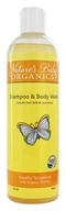 Image of Nature's Baby Organics - Shampoo & Body Wash Vanilla Tangerine - 12 oz.