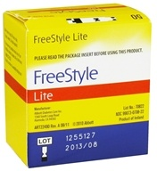 Abbott Diabetes Care - FreeStyle Lite Blood Glucose Test Strips - 50 Strip(s) CLEARANCED PRICED - $66.54