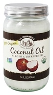 La Tourangelle - Virgin Organic Coconut Oil - 14 oz. by La Tourangelle